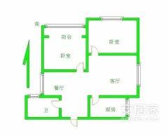 (濮阳县)南城都市花园2室2厅1卫80m²中档装修