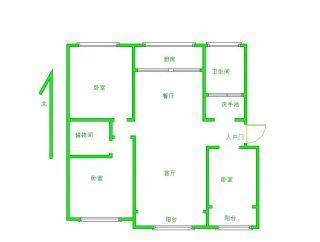 (华龙区)桃源小区3室2厅2卫2000元/月126m²出租